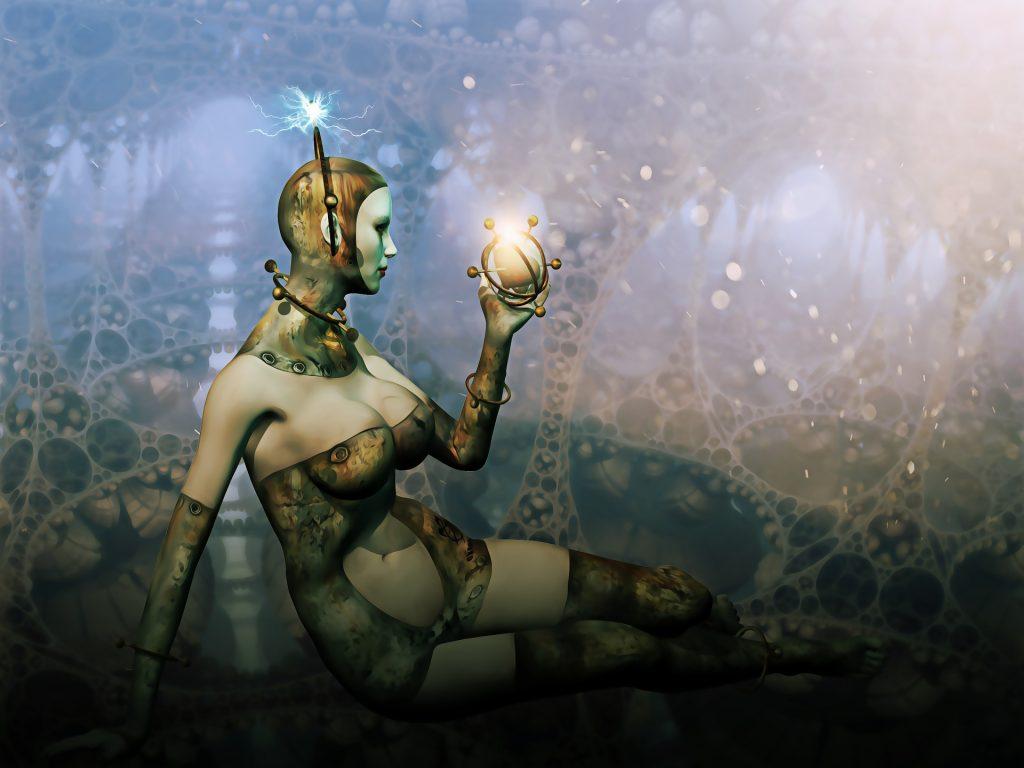 scifi girl