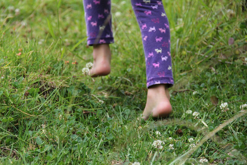 Barefoot-in-meadow