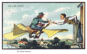 Air-mail-delivery-future-postcard