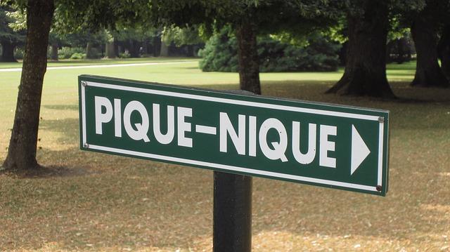 picnic-pique-nique-sign