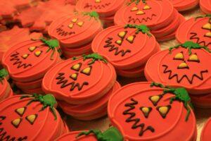 pumpking-fall-halloween-cookies